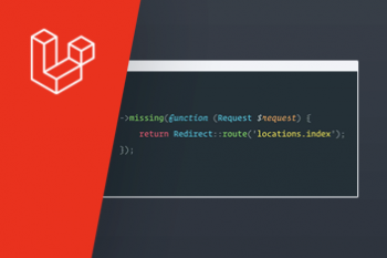 Laravel's nieuwe `missing()` methode in de router